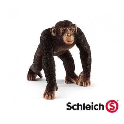 Schleich SC14817 Chimpanzee Male Animal Figurine for Kids age 3+